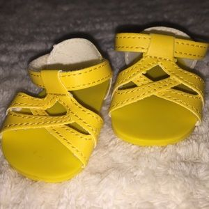 Shoes - yellow sandals